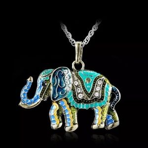 Beautiful elephant pendant necklace